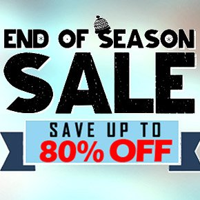 Winter Liquidation Sale - Save Up To 80% Off
