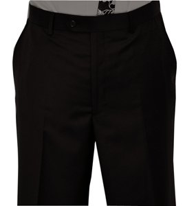black suit pant by zanetti