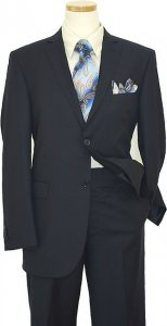 Elements by Zanetti Navy Super 120's Wool Suit 21201 / 0058