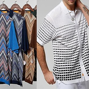 Lightweight Knitted Shirts For Lounging, Golf, & More - 20% Off