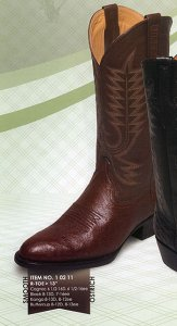 Ferrini Genuine Smooth Ostrich Boots 10211
