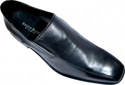 "Bacco Bucci ""Bradshaw (Studio)"" Black Soft Calfskin Leather Shoes"
