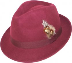 Dorfman Pacific Wine Dress Hat