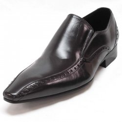 456d3430f7bba Black Lace Shoes Brooks Vegan Tayno Leather Toe Medallion Up Dress 1Y5dqwz