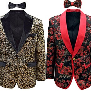 Ornate, Woven Blazers | Party & Prom Ready | Now 33+% Off