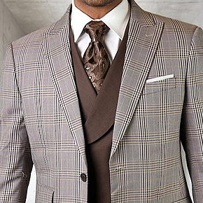 Super 150's Wool | Cashmere | Silk Blends Suits - Now 35% OFF