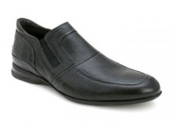 "Bacco Bucci ""Pepe"" Black Genuine Vintage Italian Calfskin Slip-On Loafer Shoes"