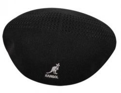 Kangol Black Tropic 504 Ventair Cap