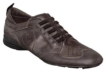 "Bacco Bucci ""Zola"" 2577-20 Brown Genuine Perforated Soft Calfskin Shoes"