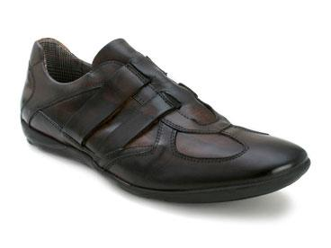 "Bacco Bucci ""Fausto"" Brown Genuine Leather Sport Shoes"