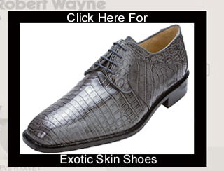 Click Here For Exotic Skin Shoes