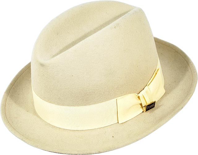 Steve Harvey By Dobbs Bone Steve Harvey C Fedora Wool Dress Hat ... 4a6888c5a4e