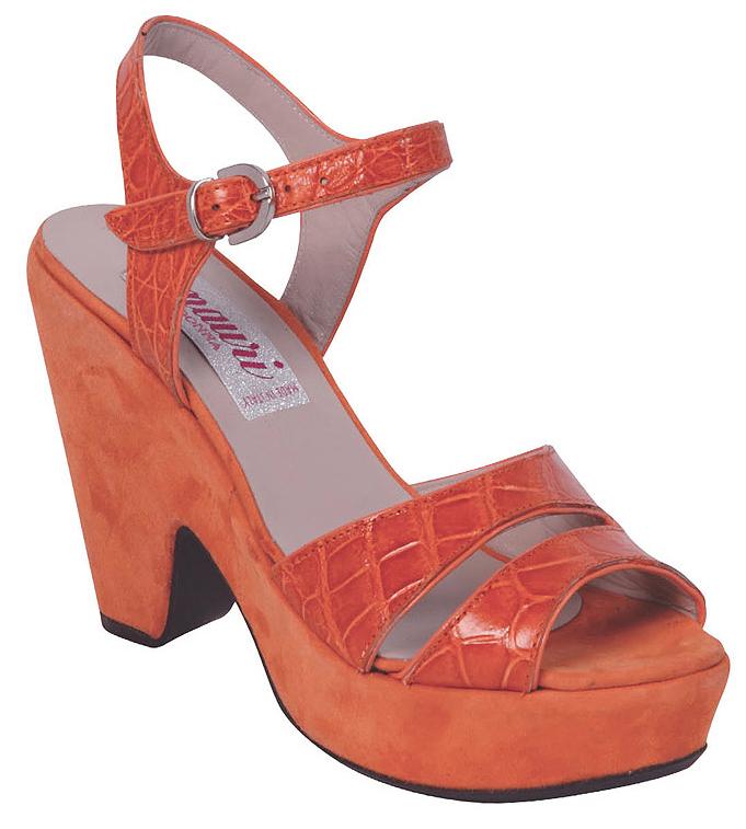 Ladies Alligator Dress Shoes