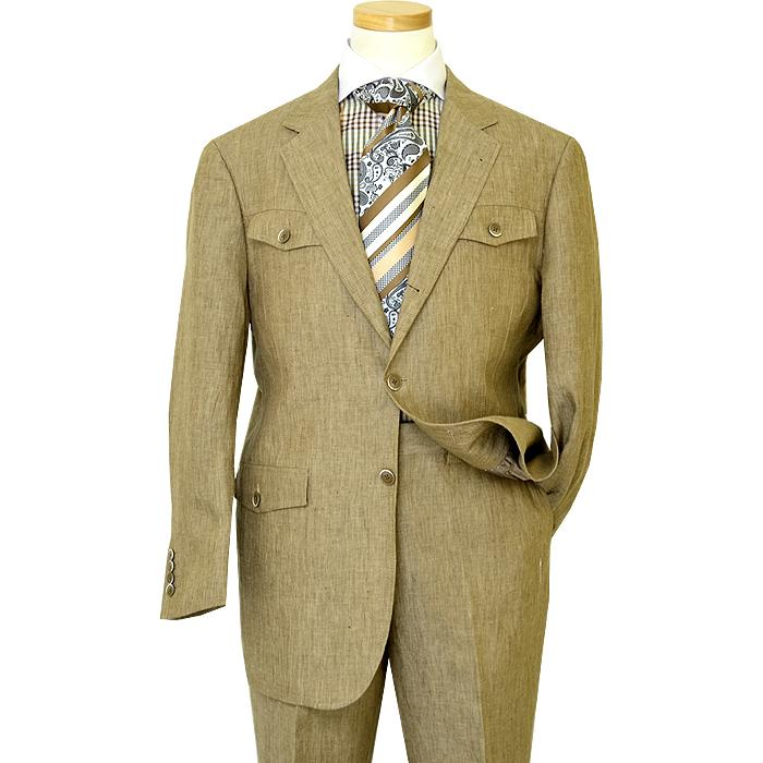 Inserch 100 Linen Taupe Casual Suit 656 169 90
