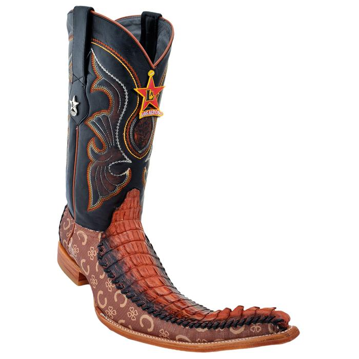 Black Genuine Crocodile 9X Pointed Toe