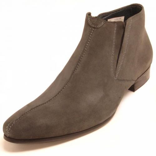 Encore By Fiesso Grey Suede Boots FI3101-S