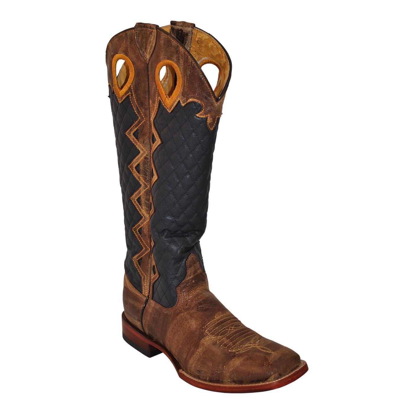57cb48e5eb1 Ferrini 14593-16 Tan Rodeo Cowboy Boots