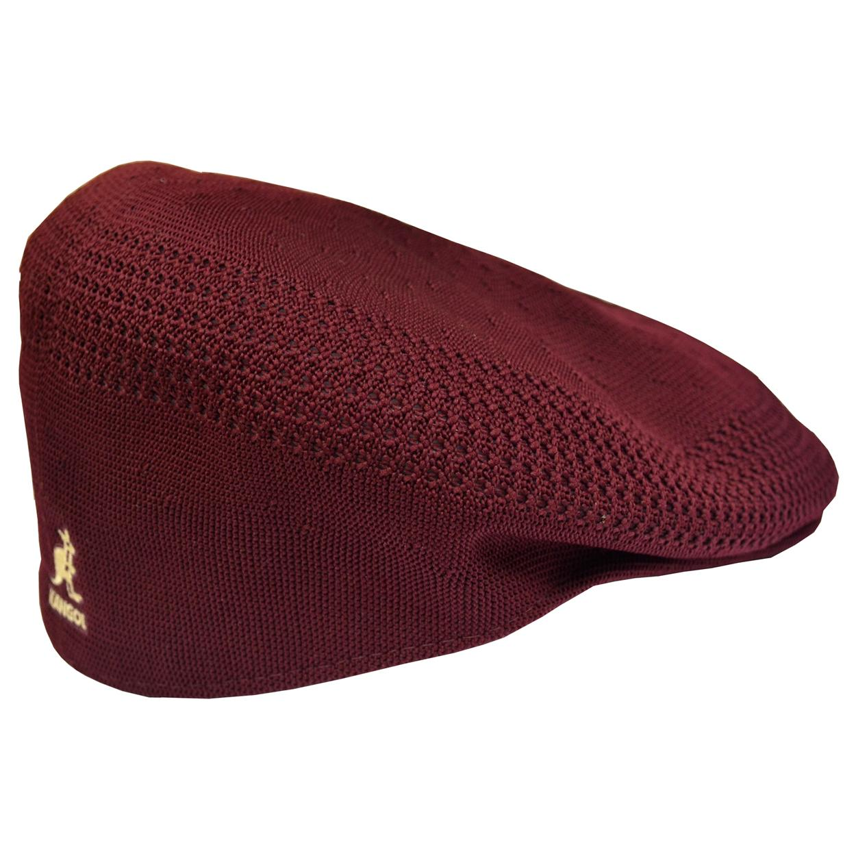 Kangol Burgundy Tropic 504 Ventair Cap