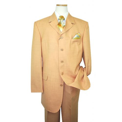 Bendetti Pumpkin 100% Super 100'S Virgin Wool Suit