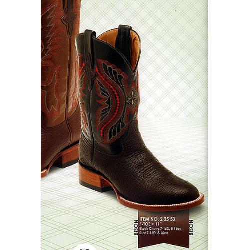 Ferrini  Genuine Bison Exotic Boots 22553