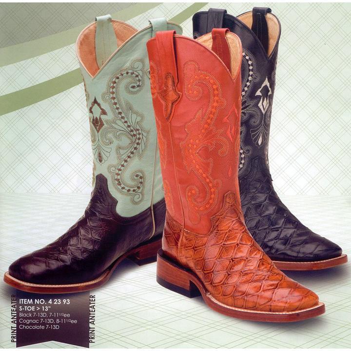bdc3db6ae7b Ferrini 42393 Anteater Print Boots