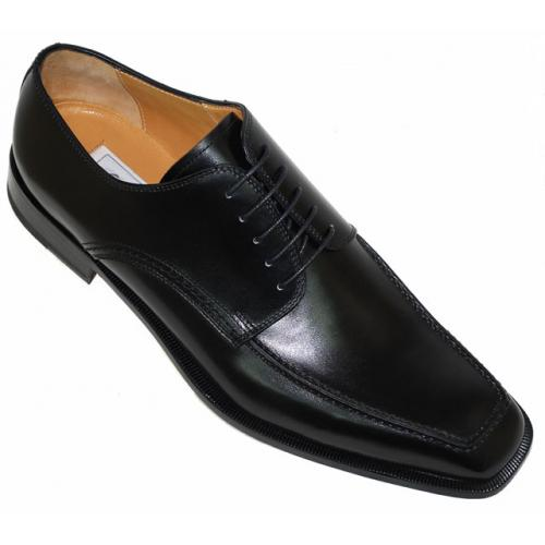 Ferrini 3898 Black Genuine French Calf Shoes.