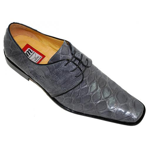 Mauri 531 Grey Genuine Alligator Shoes