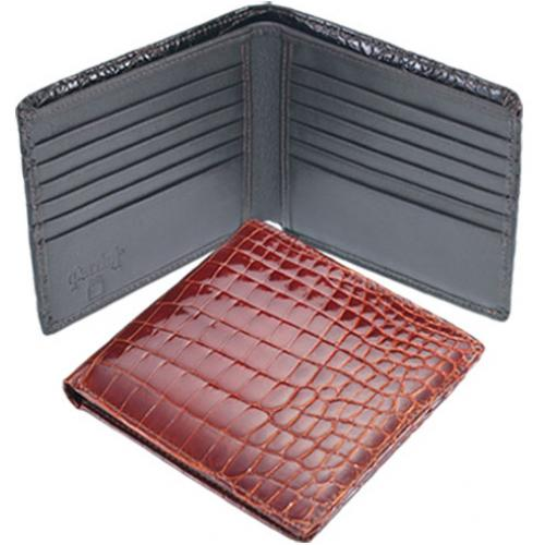 Ferrini ABHP Genuine Crocodile Wallet