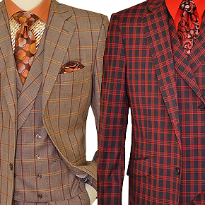 2 FOR $250! Super 150's Wool Vested Suit SALE! SAVE EXTRA $350