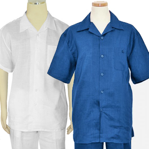 ONLY $39.90! 100% Linen 2 Piece Short Sleeve Outfit SALE