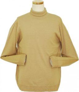 Daniel Ellissa Beige Turtle Neck Sweater KT483