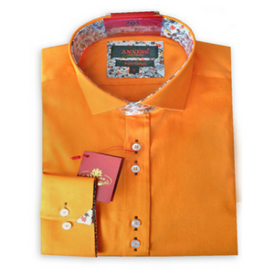 Stylish Orange Shirt for Halloween