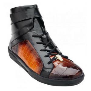 Luxury Orange Sneakers for Halloween