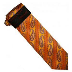 Stylish Orange Tie for Halloween