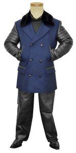 G-Gator Genuine Leather : Wool Pea Coat 3100